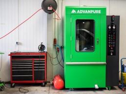 Umweltfreundliche Partikelfilter Reinigung - Truckpoint